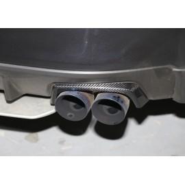 Carbon Auspuff Blenden Subaru Impreza STI 2014-