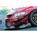 Voltex Front Bumper Full Track Version GFK Mitsubishi EVO 7-9