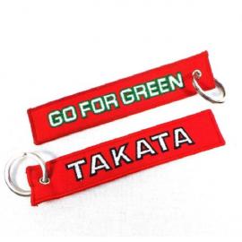 Schlüsselanhänger TAKATA Grün