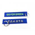 Schlüsselanhänger TAKATA Blau