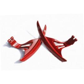 Lenkrad Schaltwippen rot Nissan GT-R R3