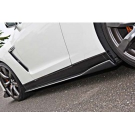 Carbon Side Skirts Varis Nissan GT-R R35