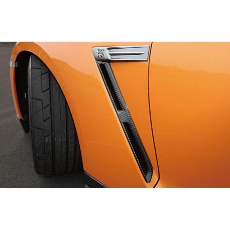 Carbon Luftauslass Kotflügel Nissan GT-R