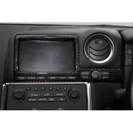 Bildschirm Abdeckung Carbon Nissan GT-R R35