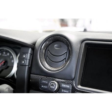 Carbon Abdeckungen Lüftung Nissan GT-R R35 2009-