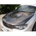 Carbon Motorhaube Chargespeed Style Subaru Impreza WRX STI 2007-2014