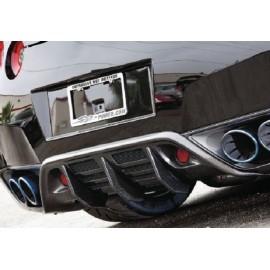 Nissan GT-R Carbon Heckdiffusor Wald Style