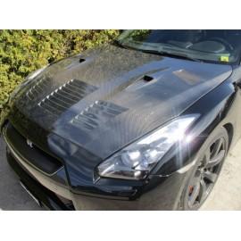 Carbon Motorhaube Varis Nissan GT-R