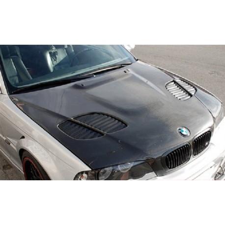 Carbon Motorhaube Gtr Style Bmw E46 M3 330 Cabrio Coupe Dtc Spoiler