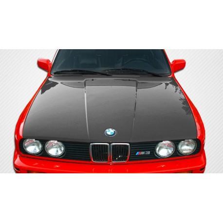 Carbon Motorhaube BMW E30 1987-1991 OEM Style