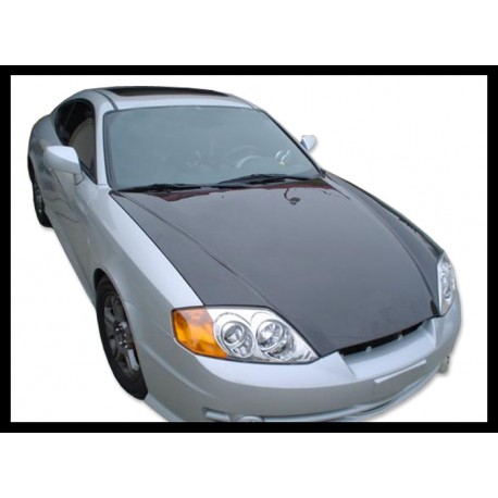 Carbon Motorhaube 02 Hyundai Coupe