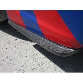 Carbon Lippen Stange hinten Subaru Impreza WRX STI 2011-