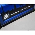 Carbon Schwellerlippen CS Style Subaru Impreza WRX STI 07-14