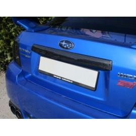 Carbon Abdeckung Nummerbeleuchtung Subaru Impreza STI 2011-