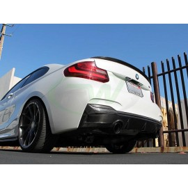 Carbon Heckdiffusor Exotics BMW F22 M235i