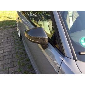 Carbon Spiegelabdeckung Audi A3/S3 12-15