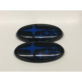 Subaru OEM Emblem Set Blaue Sterne 11-14