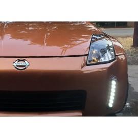 LED Tagfahrlichter schwarz Nissan 350Z -2006