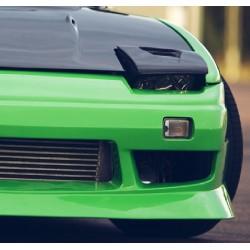 Nissan 200SX S13 Scheinwerferblenden Carbon mit Luftschlitz