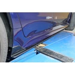 Seitenschweller Ansätze ABS Carbon Look Subaru Levorg