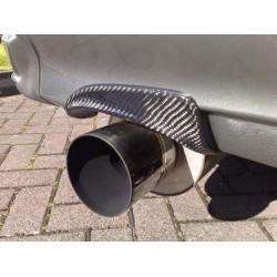 Auspuff Hitzeschild Carbon Nissan Silvia S15