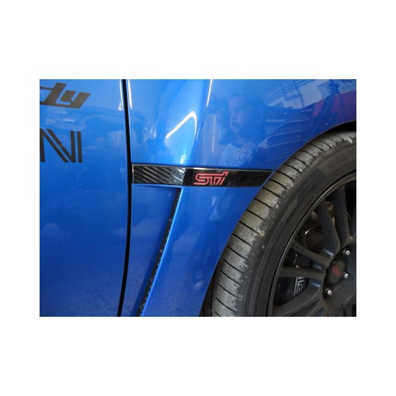 Sti Seiten Emblem Side Badge Subaru Impreza 2007 2014