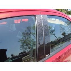 A, B und C Säulen Abdeckung Carbon Mitsubishi EVO 10