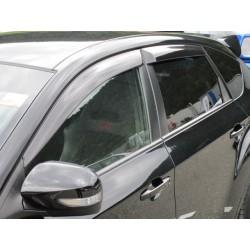 Windabweiser Acryl Subaru Impreza ab 2007-