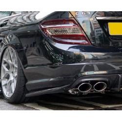 REVOZPORT RBS II Heckdiffusor Ansätze Mercedes Benz W204 C63 AMG