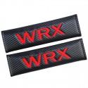 Gurtpolster Subaru WRX Rot Carbon Look