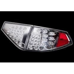 LED Heckleuchten chrom Subaru Impreza WRX STI 2007- Hatchback