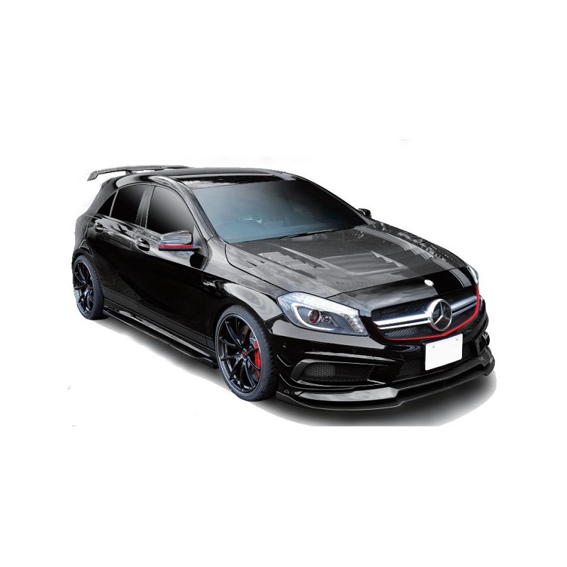 varis carbon motorhaube mercedes benz a45 amg w176 tuning. Black Bedroom Furniture Sets. Home Design Ideas