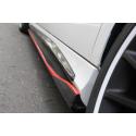 REVOZPORT Seitenschweller Carbon Mercedes A-Klasse W176