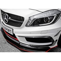 REVOZPORT Front Canards Carbon Mercedes A-Klasse W176