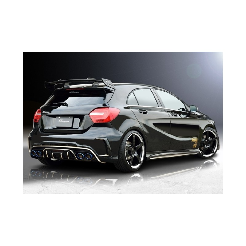 rowen heckspoiler carbon mercedes benz a45 amg w176 tuning. Black Bedroom Furniture Sets. Home Design Ideas