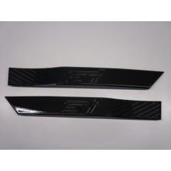 STI Kotflügel Seiten Embleme schwarz/grün Subaru Impreza STI 2007-2014