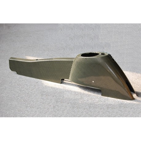 Carbon Schaltdom / Handbremstunnel Lotus Elise 04-