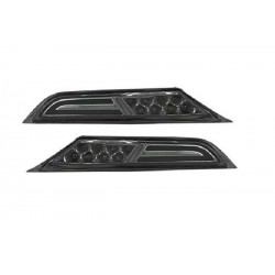 8 LED Seitenblinker schwarz smoke Nissan GT-R R35