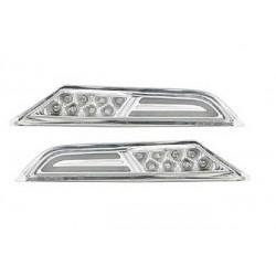 8 LED Seitenblinker chrom R35 Nissan GT-R