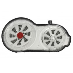 LED chrom Sequential Heckleuchten Nissan GT-R