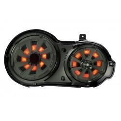 LED chrom smoke Sequential Rückleuchten Nissan GT-R