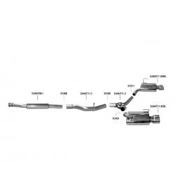 Bastuck Auspuffanlage Subaru WRX STI GV/VA