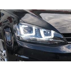 LED Seitenblinker Dynamisches Lauflicht/ sequentiell smoke VW Golf 7