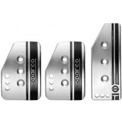 SPARCO Pedal Set Schwarz/Rot