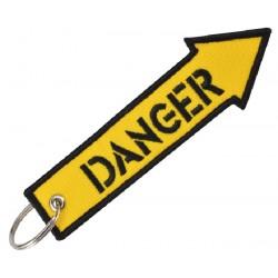 Schlüsselanhänger DANGER Pfeil