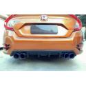 Carbon Heckdiffusor Honda Civic 2015-