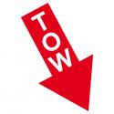 TOW Sticker/Aufkleber