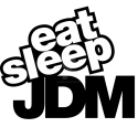 eat sleep DJM Sticker/Aufkleber