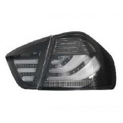 LED Rückleuchten Schwarz Smoke BMW 3er E90