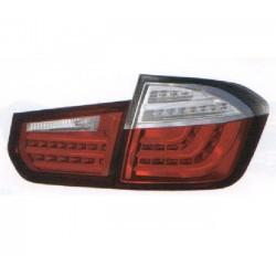 LED Rückleuchten Rot Klar BMW 3er E90